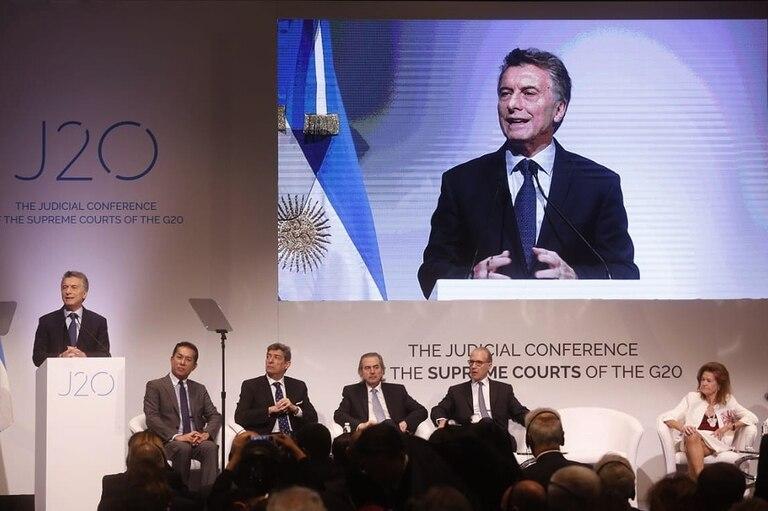 """Macri: """"Estamos comprometidos en la lucha contra la corrupción y la impunidad"""""""