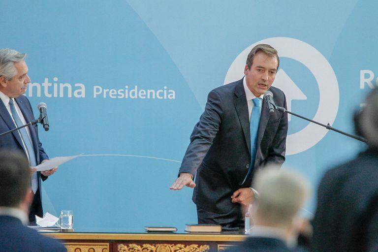 Martín Soria es el nuevo Ministro de Justicia de la Nación, cargo que dejara Marcela Losardo.