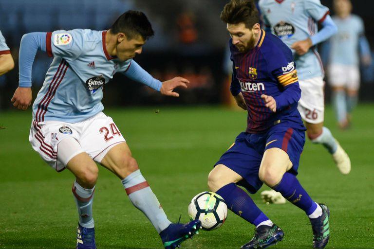 Lionel Messi entró a los 59 minutos