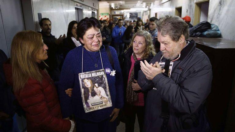 Familiares de Natalia Melmann, indignados por la resolución judicial