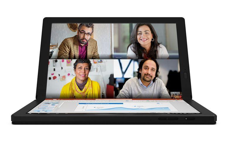 La Lenovo Thinkpad X1 Fold corre Windows 10 y será compatible con Windows 10X, la próxima versión del sistema operativo de PC diseñado para este tipo de dispositivos