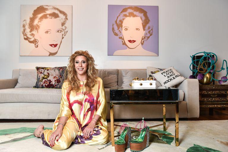 """Amalia Amoedo.""""En la relación arte-moda hay límites a explorar y correr"""""""