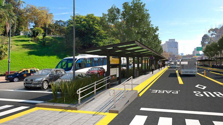 Metrobus del Bajo: edificios demolidos y cambios en las calles en la ampliación de los carriles exclusivos