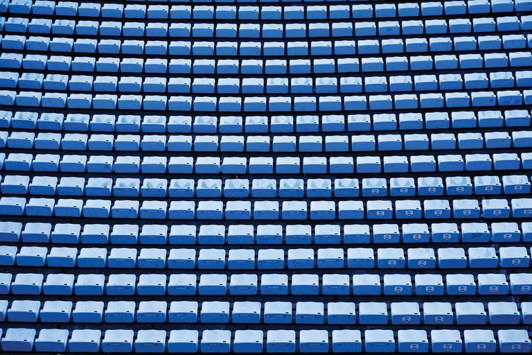 ¿Estuviste alguna vez en un estadio vacío?