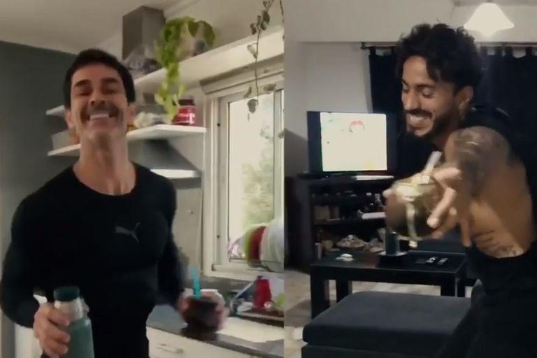 """Mariano Martínez cantó su hit """"Yo sé"""" para hacer bailar a todos en cuarentena"""