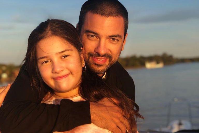 La decisión del Chino Leunis para poder estar más presente en la vida de su hija