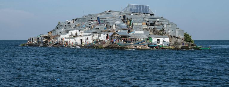 Migingo, la pequeña isla de pescadores que se disputan Kenia y Uganda