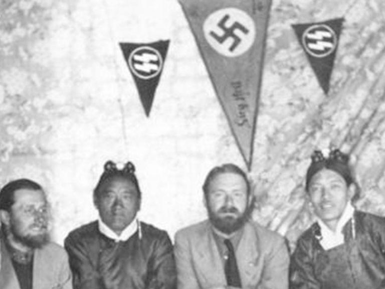 El extraño caso de los científicos enviados por los nazis al Himalaya en busca de la raza aria