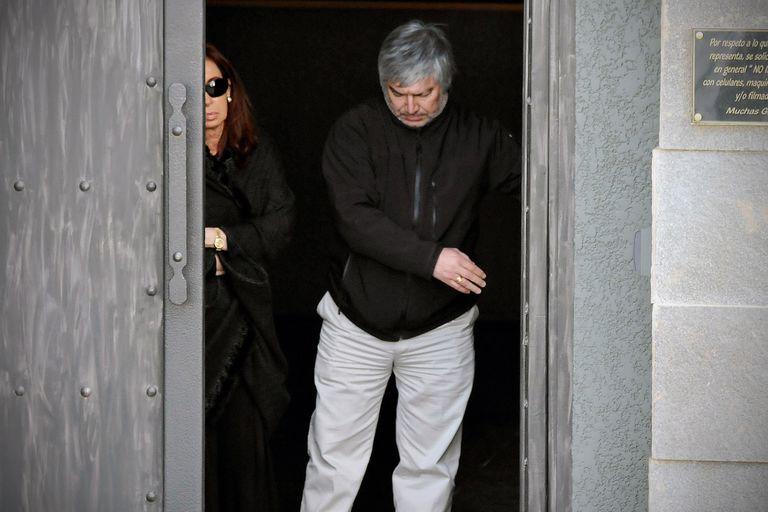 Lázaro Báez, acusado de ser el lavador de una asociación ilícita por la que está acusada la vicepresidenta