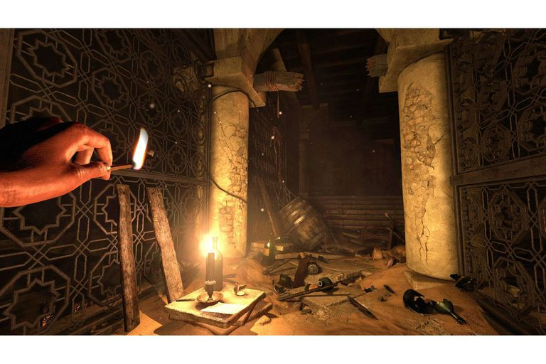 En el juego hay que resolver acertijos y, sobre todo, conseguir medios para iluminarse