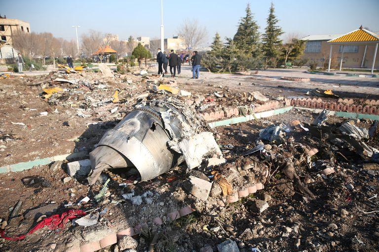La mujer que presintió el accidente aéreo en Irán