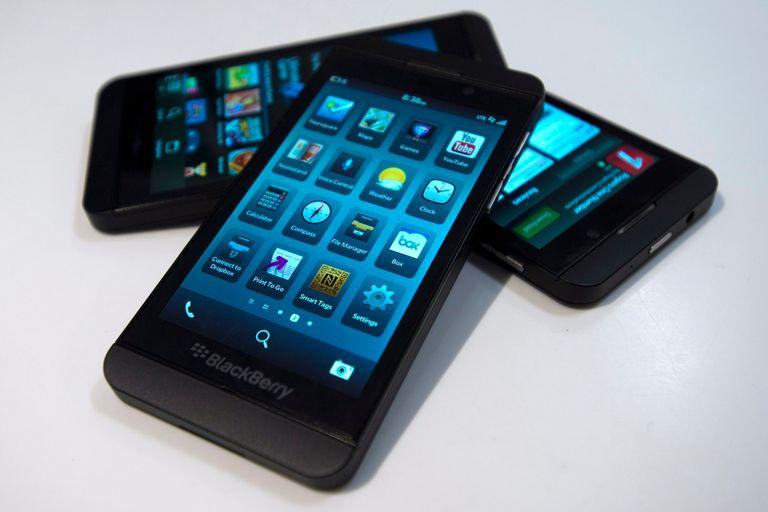 Un trío de BlackBerry Z10