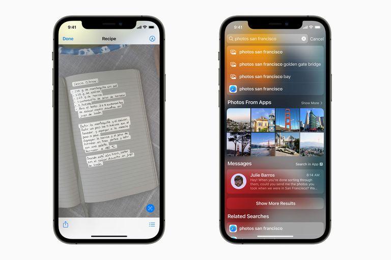 Live Text: Apple suma el reconocimiento de texto en fotos al iPhone