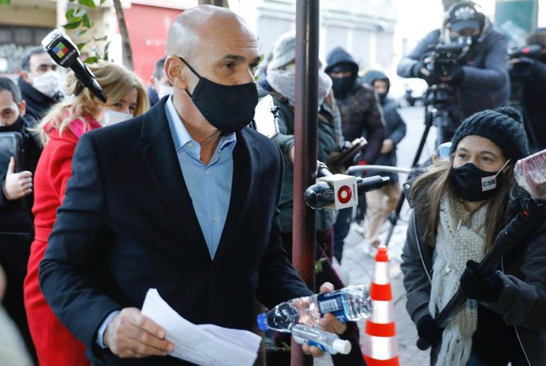 Espionaje. Gustavo Arribas declara en los tribunales de Lomas de Zamora