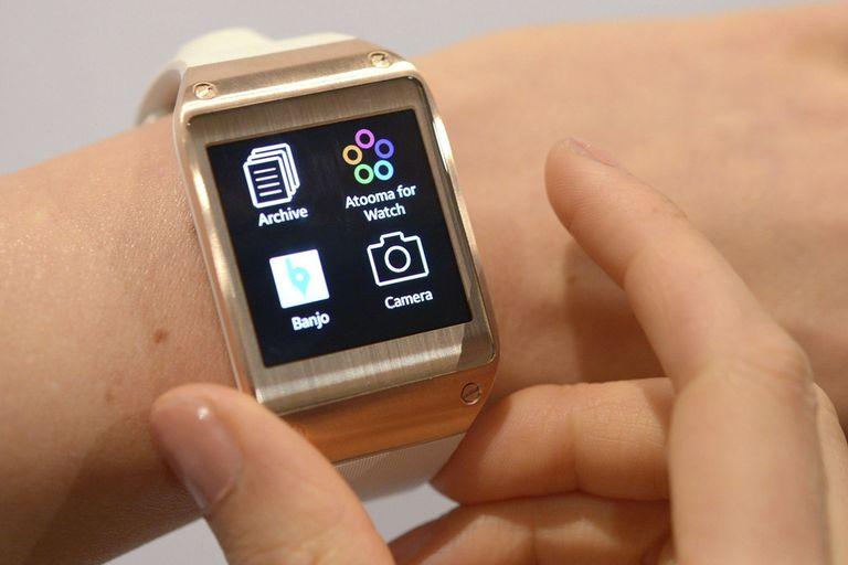 El reloj Galaxy Gear tiene una autonomía de 25 horas