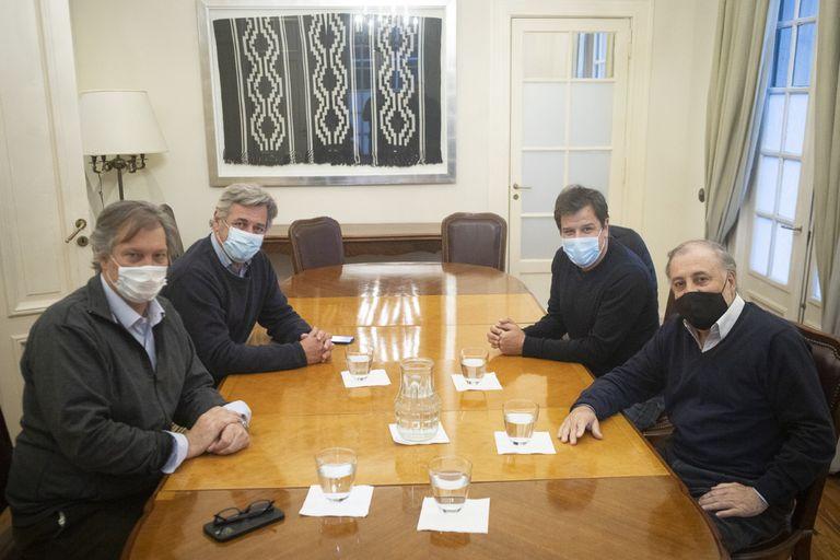 Manes se reunió con dirigentes de la Sociedad Rural Argentina