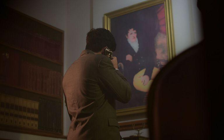 """Imagen que remite a la sala """"El despacho presidencial"""" de Eureka."""