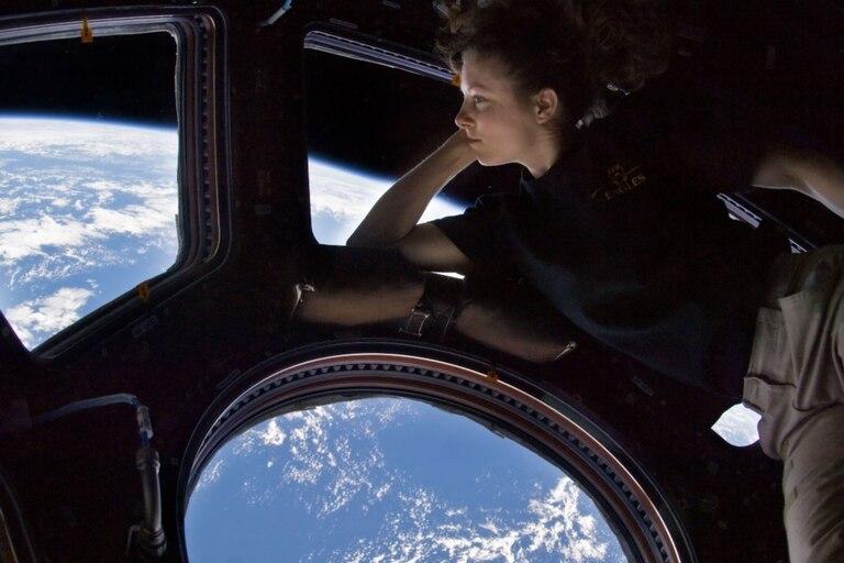 La Estación Espacial Internacional tiene una cúpula con vista de 360 grados para los astronautas que viven ahí