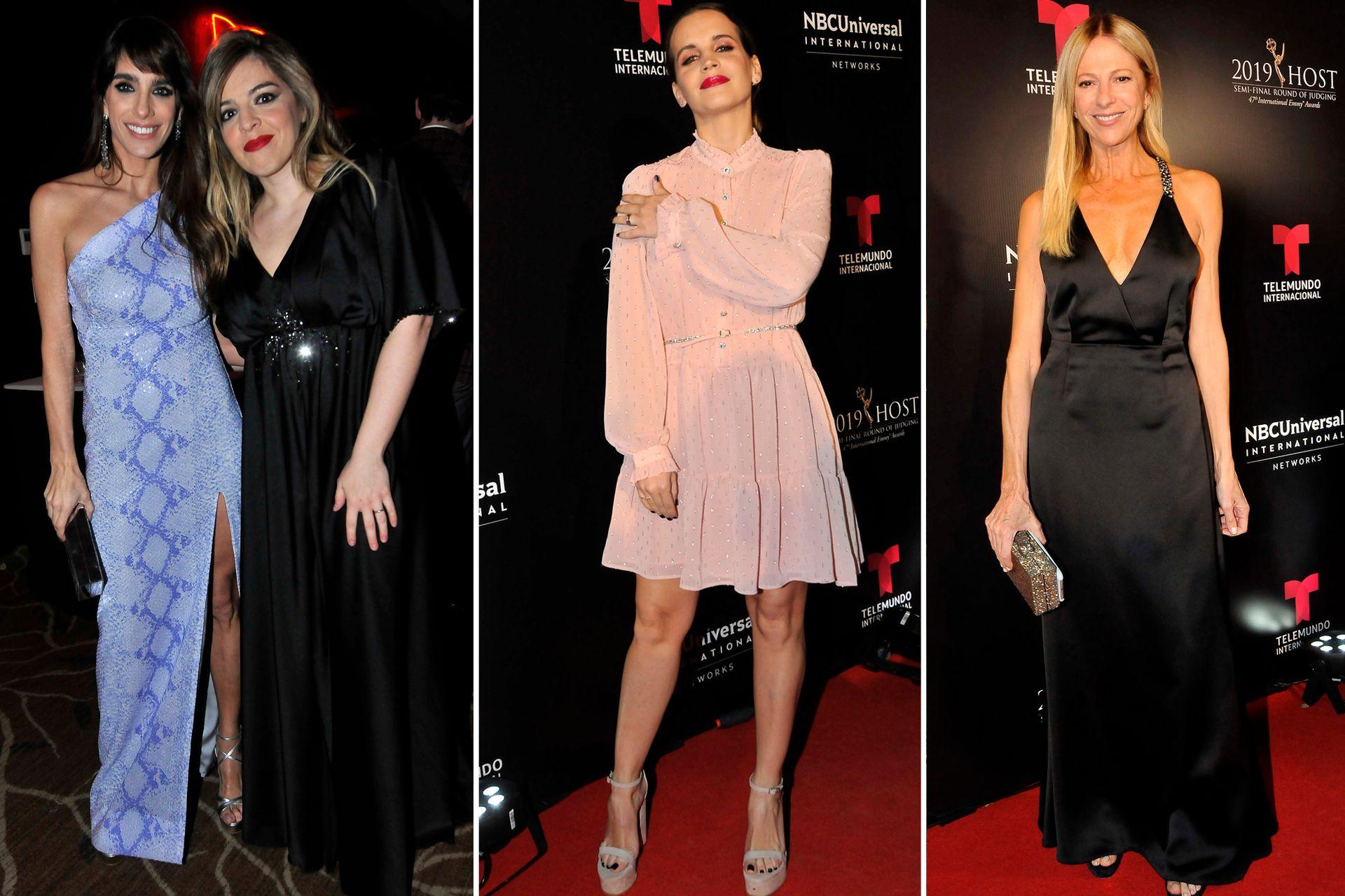 Cuatro looks: Gabriela Sari, Dalma Maradona, Sabrina Garciarena y Claudia Fontán