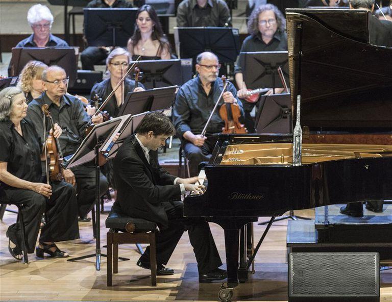 El pianista y su estreno porteño