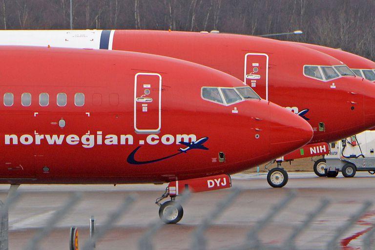 Todavía se encuentran volando en el país las tres aeronaves Boeing 737 de Norwegian