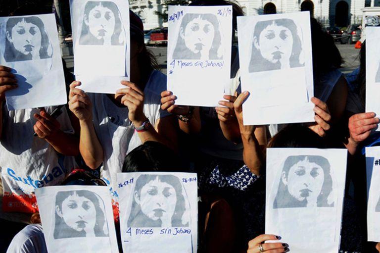Numerosos grupos se movilizaron durante estos cuatro años para exigir el esclarecimiento del asesinato de Johana Ramallo