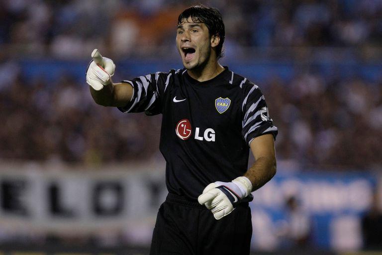 García tuvo la responsabilidad de defender el arco de Boca cuando todavía no estaba maduro