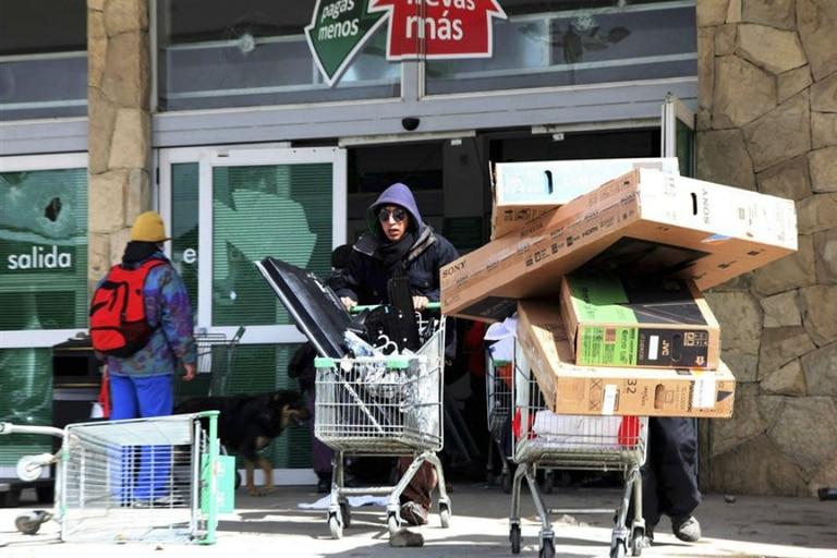 Bariloche fue epicentro de saqueos en diciembre de 2012