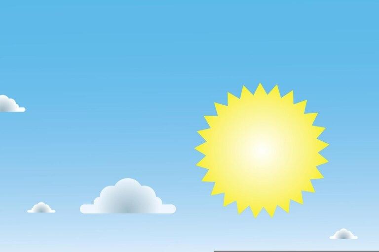 El pronóstico del tiempo para Coronel Pringles para el jueves 14 de enero. Fuente: Augusto Costanzo
