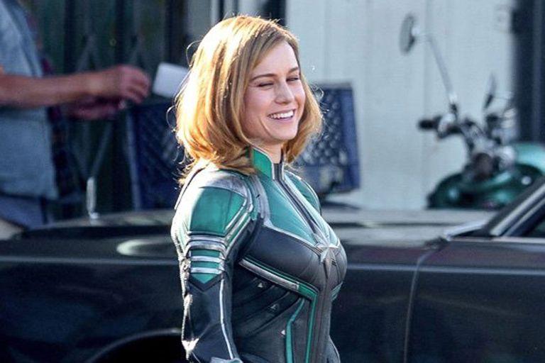 Brie, como la Capitana Marvel
