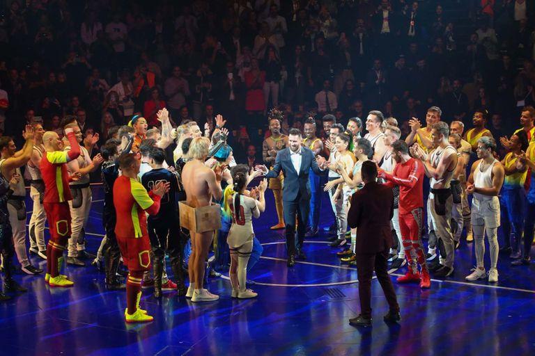 Cirque du Soleil. Pese a la quiebra, sigue en pie el show dedicado a Messi