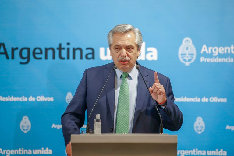 """El presidente Alberto Fernández apoyó la creación de nuevos impuestos a las """"grandes fortunas"""""""