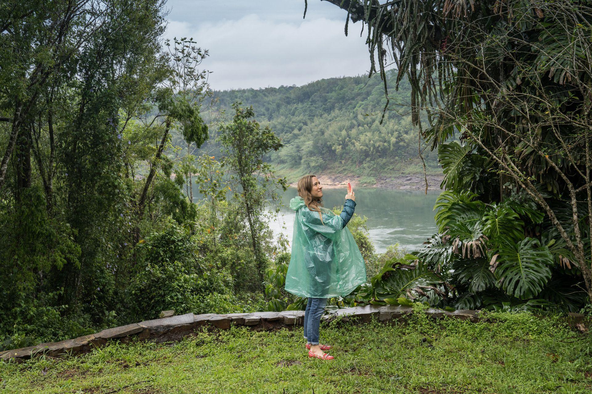Puerto Bemberg está en el medio de la selva paranaense.