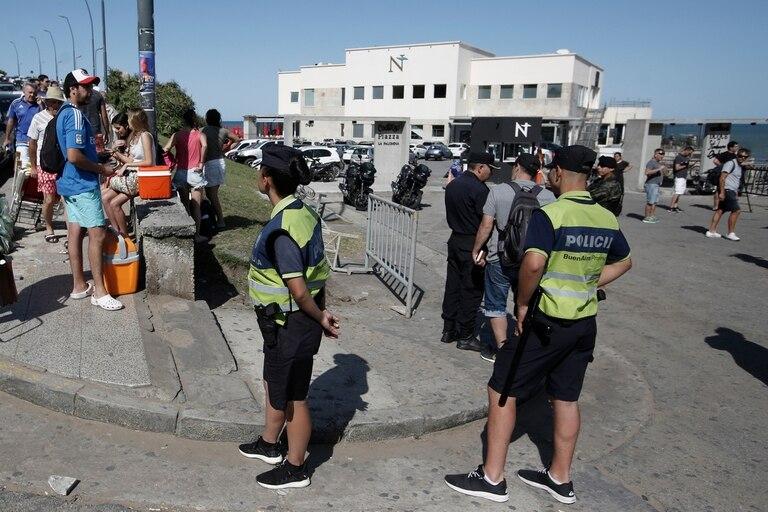 La policía reforzó los controles en los balnearios de Mar del Plata