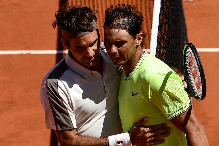 Federer y Nadal, inoxidables