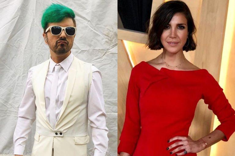 Ale Sergi habló de su romance pasado con la actriz Andrea Rincón