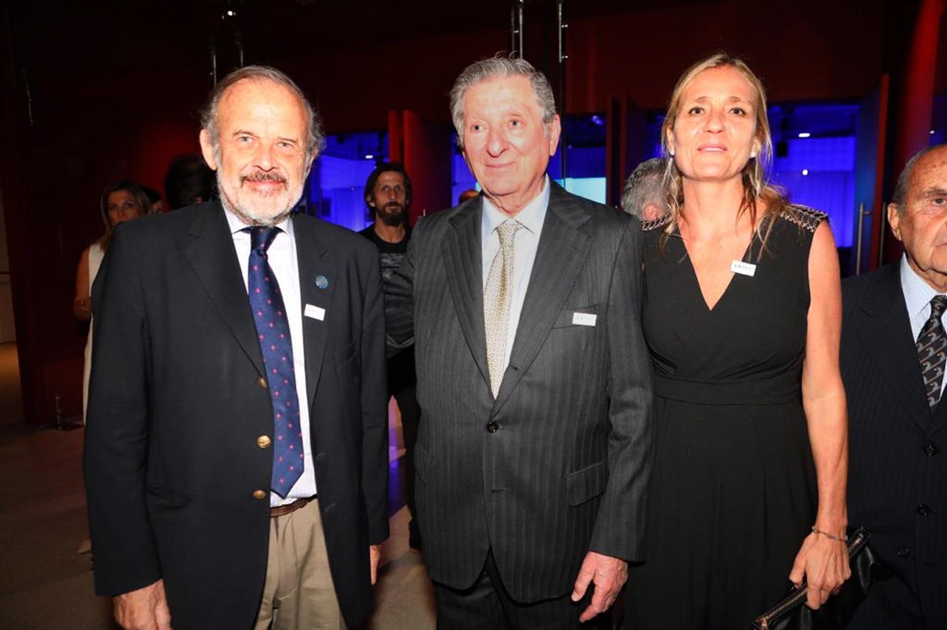 Eduardo Amadeo, José Claudio Escribano y María Rita Escribano