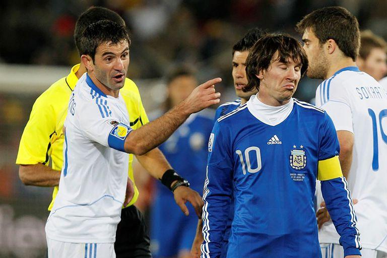 Messi, capitán argentino. El traumático debut de la cinta de plomo en un Mundial