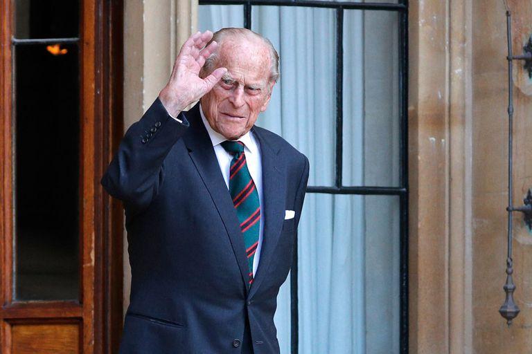 Una foto del príncipe Felipe, en julio pasado
