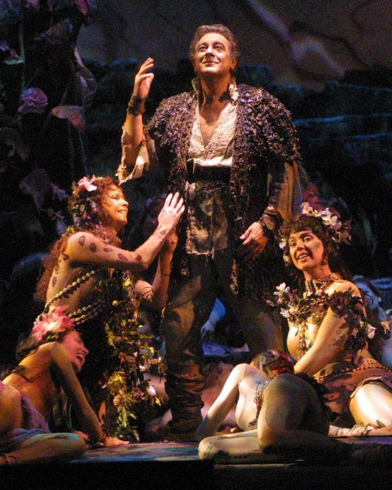 Domingo interpreta Parsifal en el Metropolitan Opera de Nueva York, en marzo de 2001