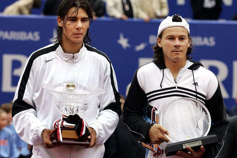 Semanas antes, un episodio similar: Nadal le ganó en cuatro sets a Coria en Montecarlo