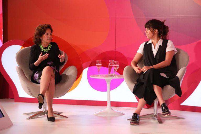 Inés Zerdán (American Express) y Paula Marconi (Quilmes)