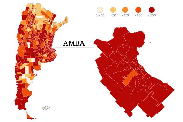 Coronavirus en la Argentina: indicadores y cifras en tiempo real