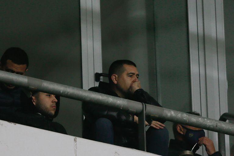 Juan Román Riquelme, preocupado por el presente del equipo