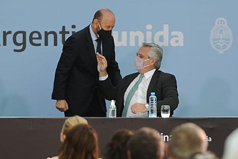Gildo Insfrán y Alberto Fernández