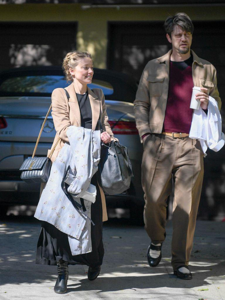El cineasta argentino fue fotografiado con la actriz de Aquaman en Los Ángeles