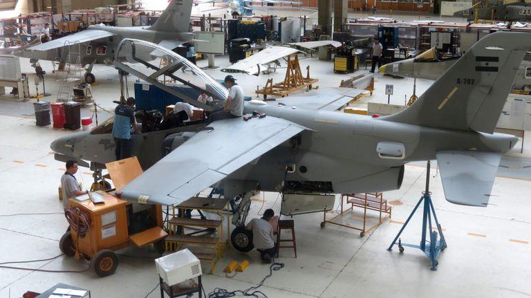 En Fadea se está trabajando para entregar a la Fuerza Aérea una unidad más este año.