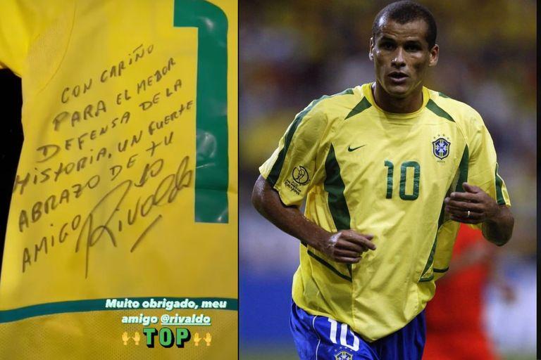 El mejor defensor de la historia, según el brasileño Rivaldo