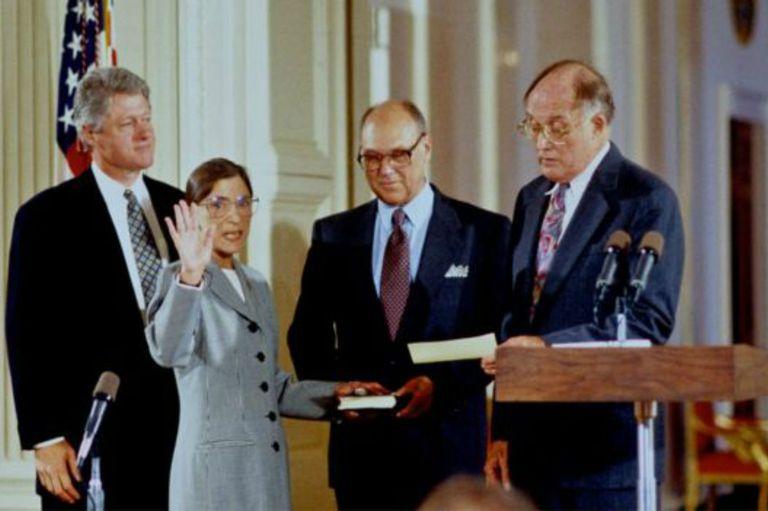 Clinton la nominó a la Corte Suprema en 1993.