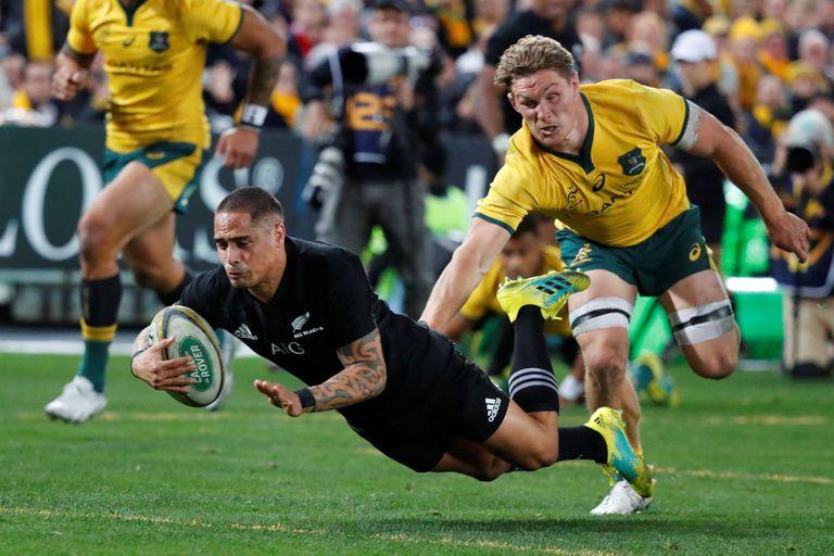 Rugby Championship: Nueva Zelanda, el campeón, le ganó a Australia